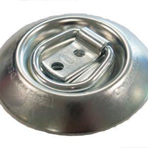 Maypole Round Steel Cargo Lashing Ring – 97mm x 13mm Bk – MP81409B