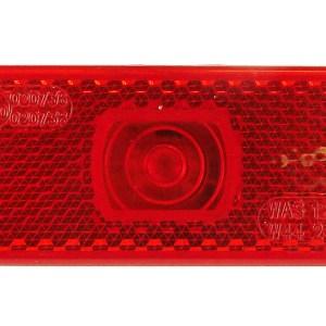 Maypole Lamp – LED 12-24V Rear Marker & Reflector Bk – MP8777B