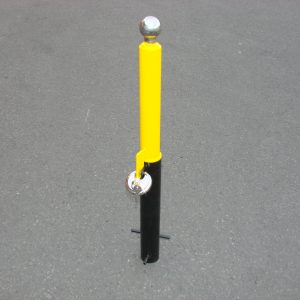 Maypole Security Post – Removable Trailer Hitch – MP9735