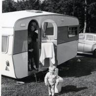 John Cooper caravanning all my life circa 1970