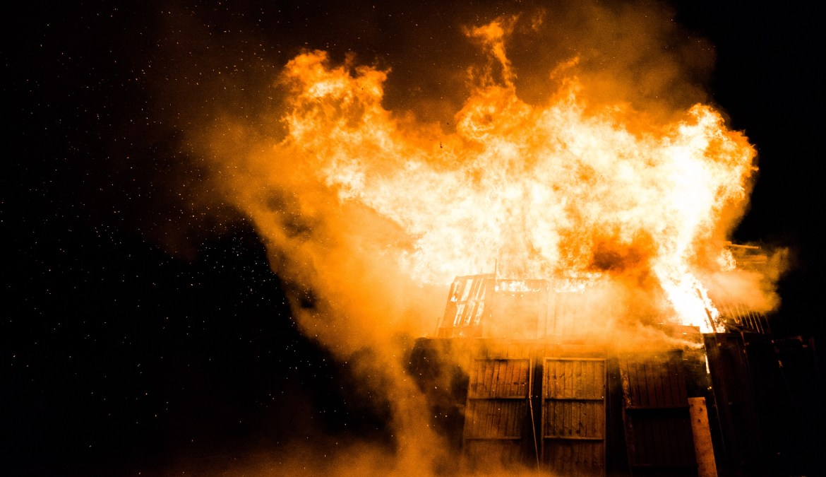 Commentary: MY BROTHER'S CHURCH BURNT DOWN
