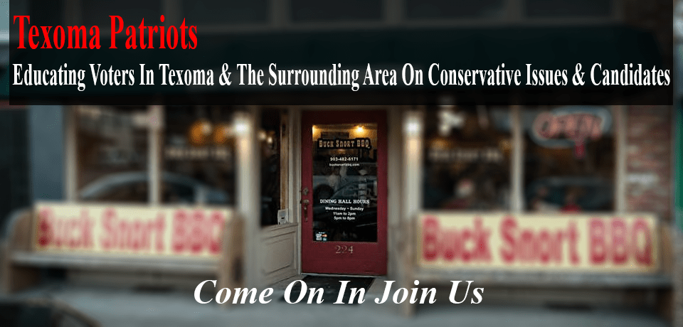 Texoma Patriots Meet the Candidates Event