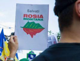 Presă, jurnalism şi contracte! + poze protest Roşia Montană