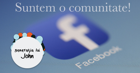 comunitate facebook generatia lui john