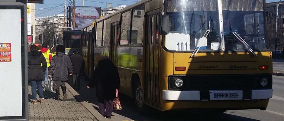 autobuz ikarus, tce ploiești, 101