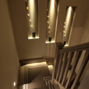 7 Ultimate Staircase Lighting Ideas For Your Home John Cullen | Stairs Side Wall Design | Modern | Stone | Pop | Wallpaper | Stair Pattern