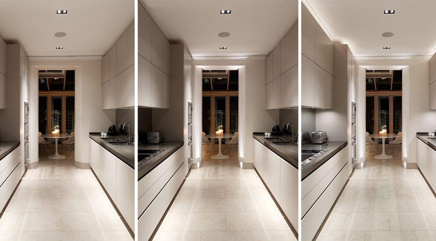 galley kitchen lighting john cullen