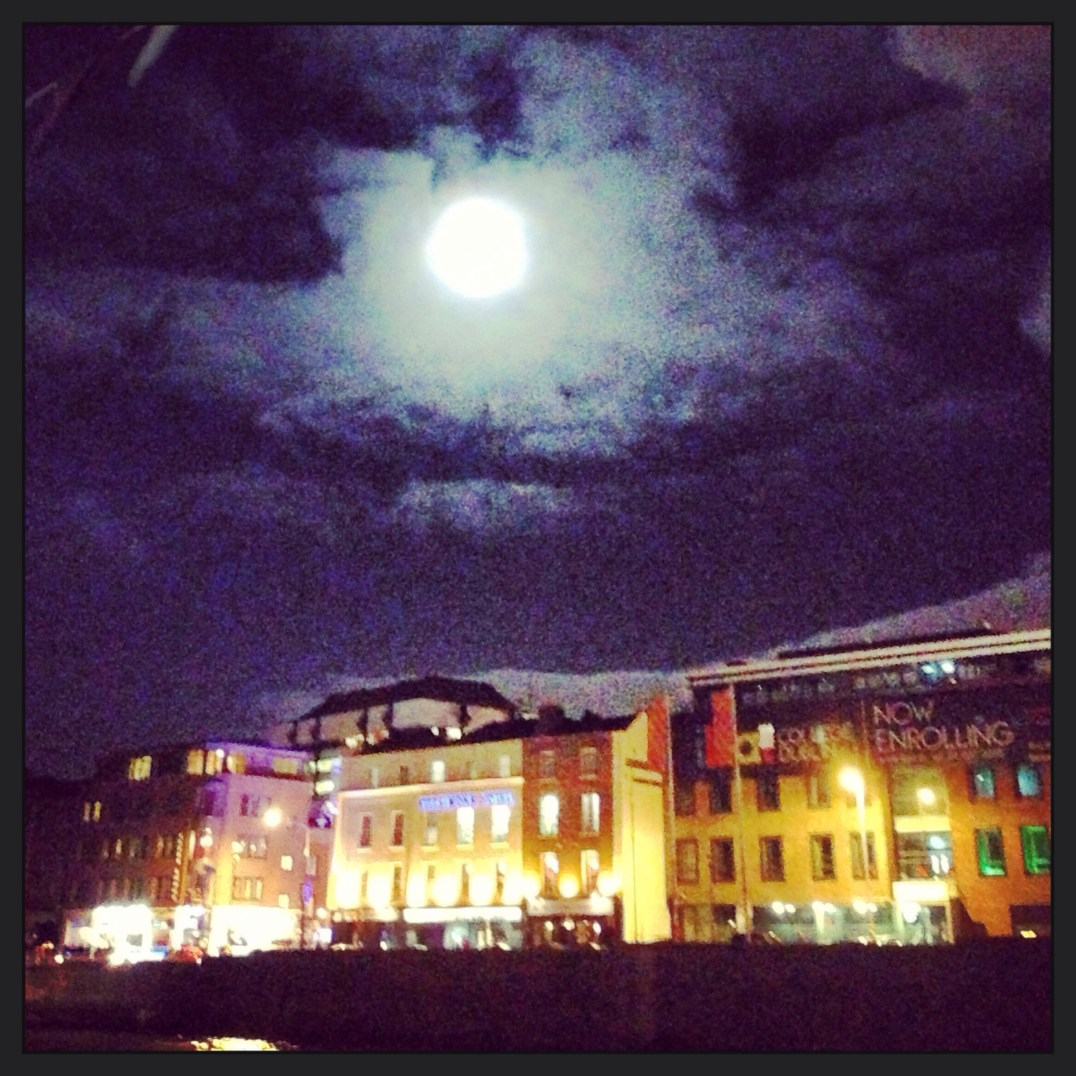 Liffey moon