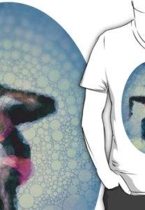 Yoga art 9 v neck t shirt