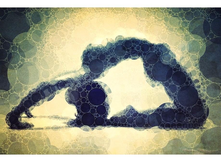 Yoga art 17