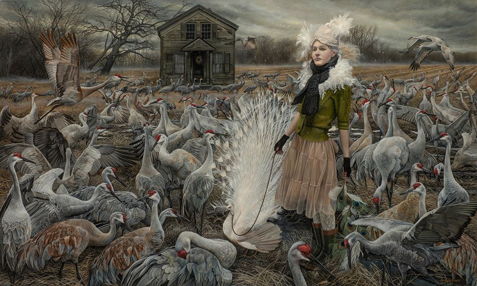 Ep 75 – Andrea Kowch : The Mystery Of The Authentic Self