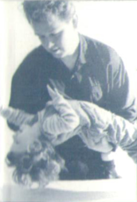 John Dalton Practicing Craniosacral Therapy - Dublin 1995