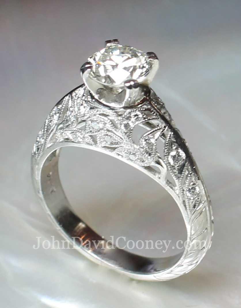 Platinum, Phillagree with Diamonds