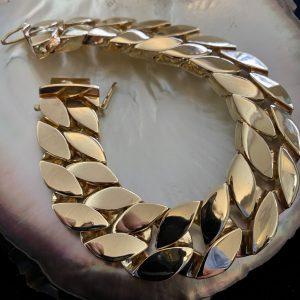 men's Heavy Custom Link Bracelet