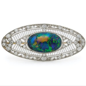 Opal, Platinum, Diamonds