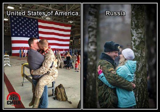 us-Homo-Soldaten-russia-Hetero-Soldat-Ehefrau
