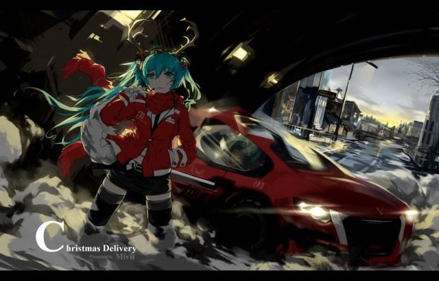 Christmas 聖誕の宅急便 by Mivit - http://www.pixiv.net/member_illust.php?mode=medium&illust_id=47630678