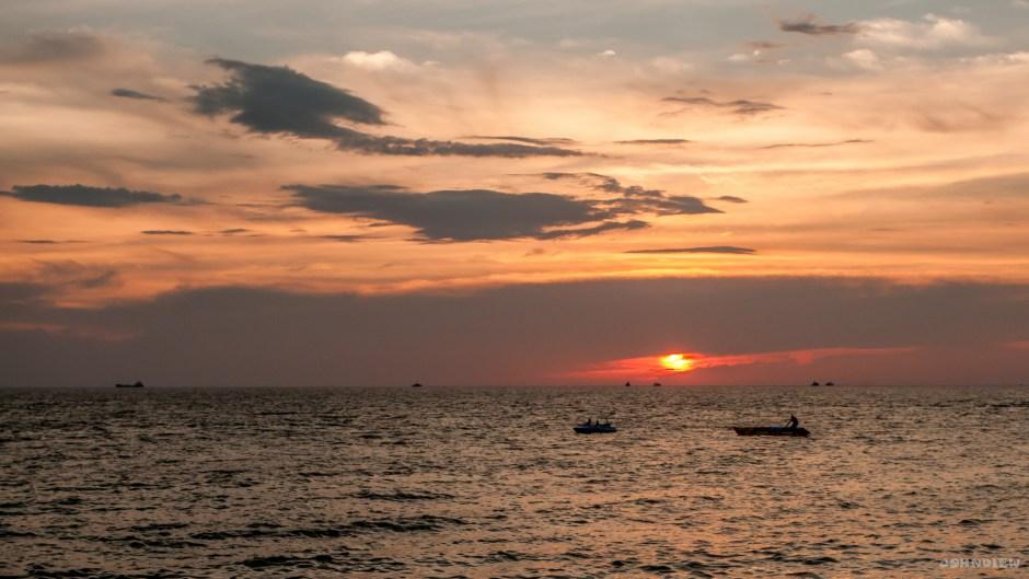 Sunset at Teluk Batik