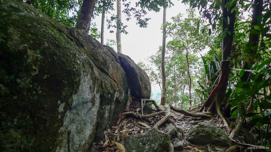 """Eagle Point"" of Bukit Engku Busu"