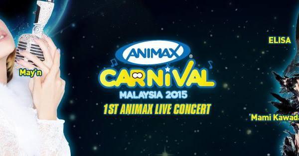 Animax Carnival Malaysia 2015