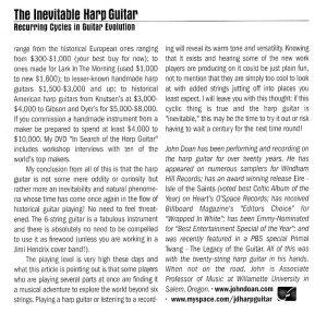Fingerstyle Guitar Magazine - The Inevitable Harp Guitar - no.66 pg44