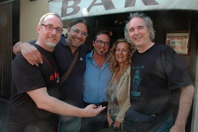 John Doan & Six Bar Jail Guitar club in Florence Italy