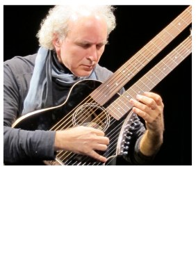 Beyond Six Strings Concert Poster -  John Doan Plain