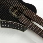 Brunner harp guitar back string tuners