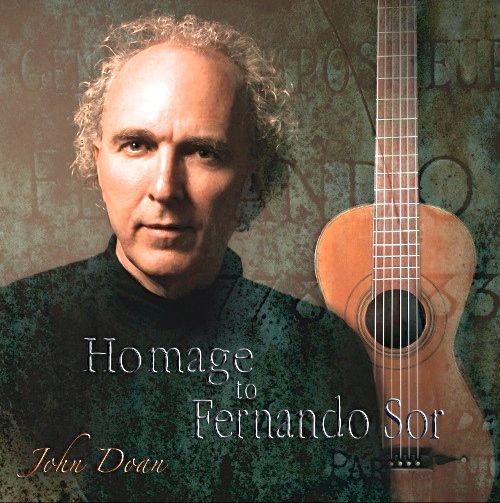 John Doan Homage To Sor CD pic - Version 2.