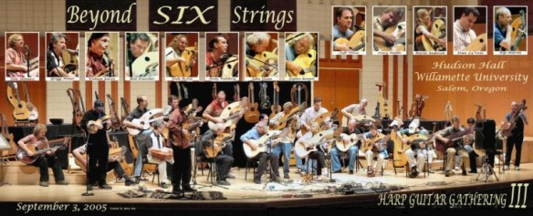 Beyong Six Strings concert for the International Harp Guitar Festival