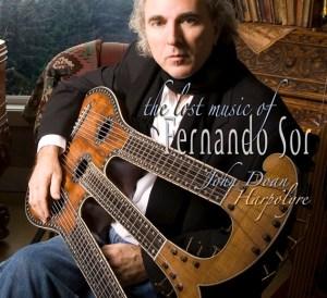John Doan album The Lost Music of Fernando Sor on Harpolyre