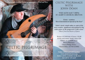 Celtic Pilgrimage John Doan Cletic postcard sample