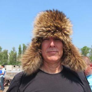 11.John Doan Harp Guitar Moscow Fur Hat