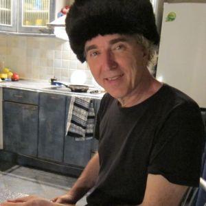 12.John Doan Harp Guitar Russia Fur Hat