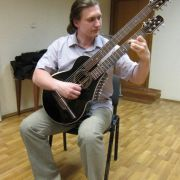 18.John Doan Harp Guitar Moscow Oleg Moskalev harp guitar