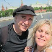 4.John Doan Harp Guitar Moscow with Deirdra