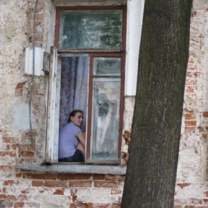 8.John Doan Tour Moscow girl in window