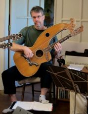 John Doan Harp Guitar Retreat Brent