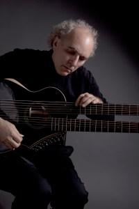 John Doan on harp guitar at Keivlight.