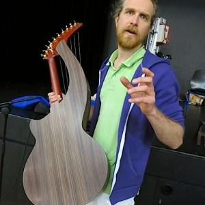 24.Cedric Verglas with harp guitar1
