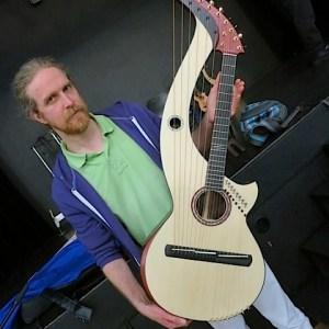 25.Cedric Verglas with harp guitar2