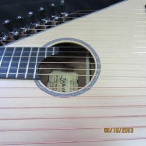 9.Ukraine Harp Guitar Face
