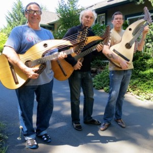 Harp Guitar Retreat 2013 3 harp guitarists
