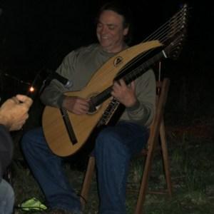 Harp Guitar Retreat 2013 Campfire26