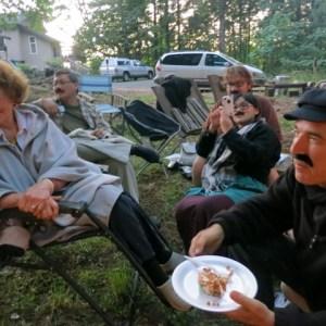 Harp Guitar Retreat 2013 Campfire8