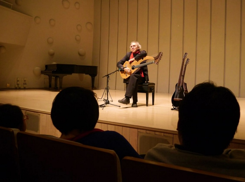 John Doan Xian China performing in concert hall in front of the audience