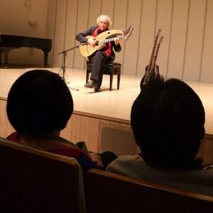 John Doan Xian China with audience watching during concert