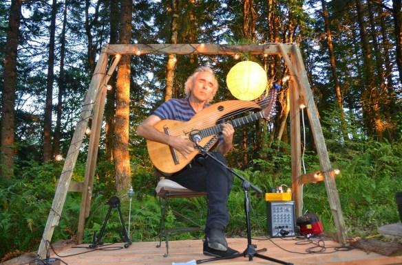John Doan Harp Guitar Performance2