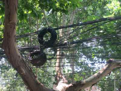 16. Xian Telephone Wires