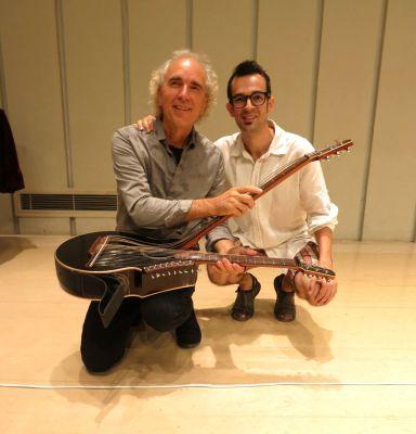 23.5 John Doan Adam Harp Guitar apart